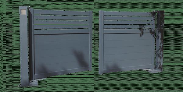 modèle portail battant clairline Portaleco