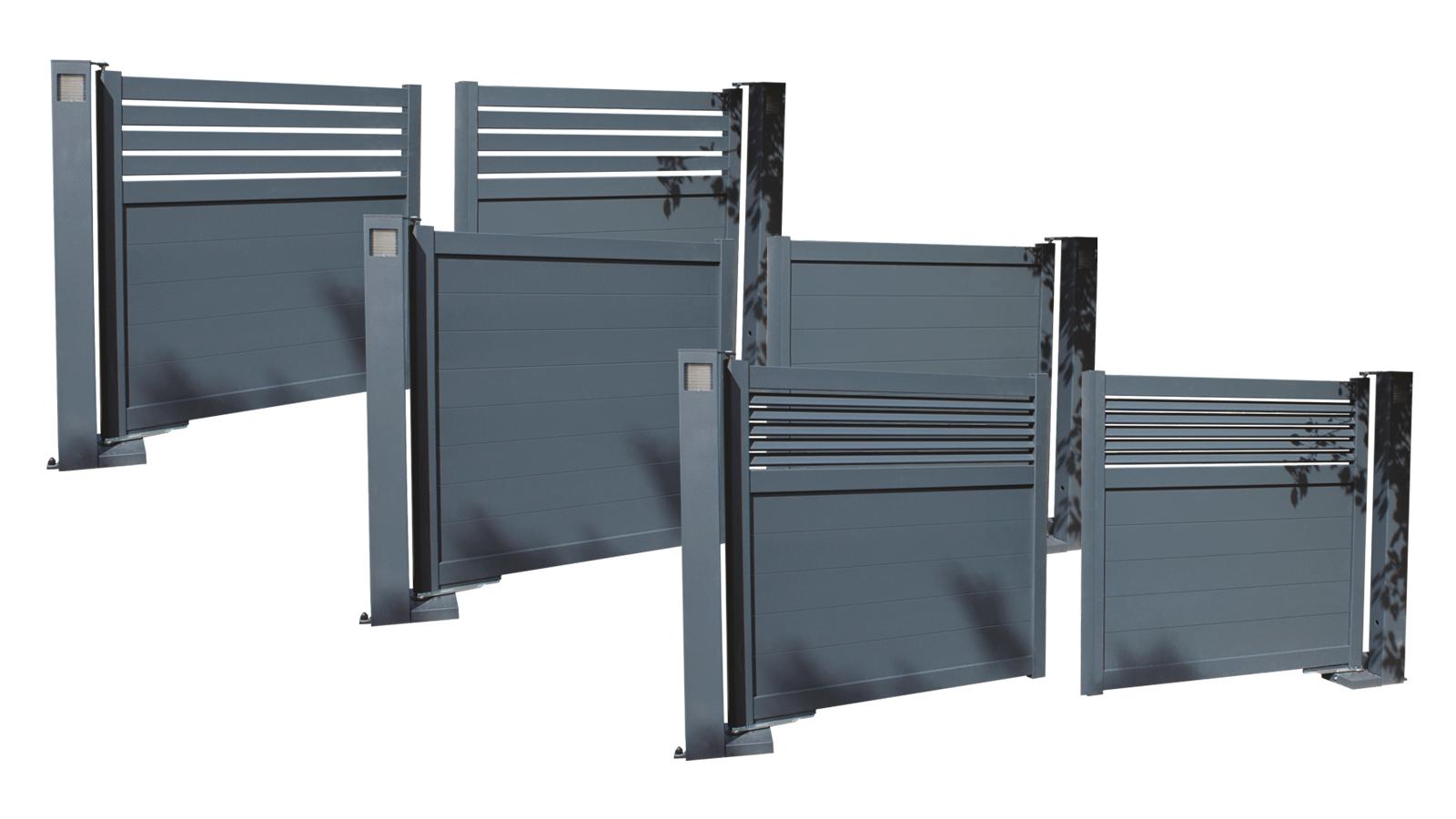 designs portail battant Portaleco swinggate aluminium