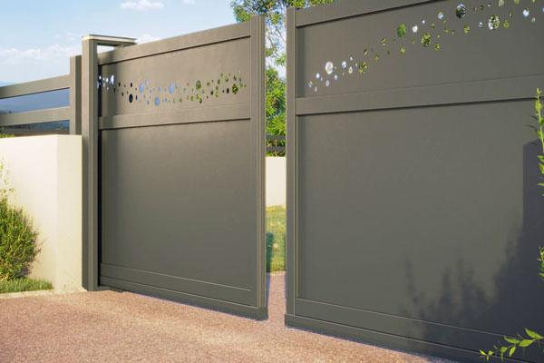 twinslide aluminium composite portail Portaleco
