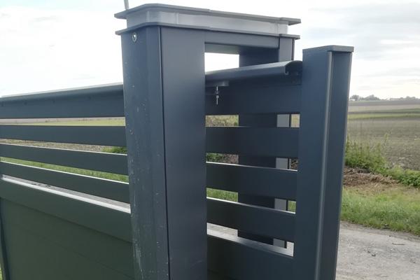 l'entretien de son portail aluminium Portaleco