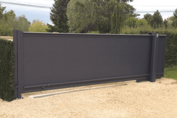 OneSlide portail coulissant et autoportant